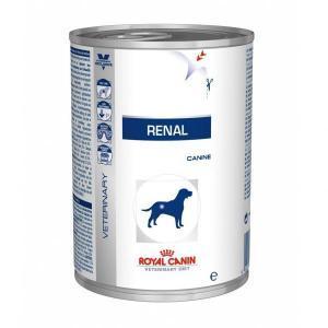 Royal Canin Renal лечебные консервы для собак с заболеваниями почек 400 г (12 штук)