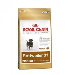 Royal Canin Rottweiler Junior сухой корм для щенков Ротвейлеров 12 кг