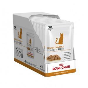 Royal Canin Senior Consult Stage1 диета для кошек старше 7 лет 100г*12шт