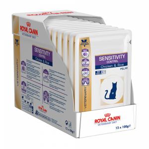 Royal Canin Sensitivity Control диета для кошек при пищевой аллергии 100г*12шт