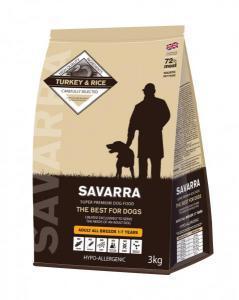Savarra Adult Dog сухой корм для собак всех пород с Индейкой