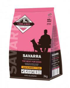 Savarra Adult Dog сухой корм для собак всех пород с Ягненком
