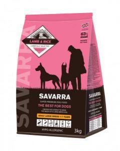 Savarra Adult Large Breed сухой корм для собак крупных пород с ягненком