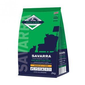 Savarra Indoor Cat Duck & Rice сухой корм для домашних малоподвижных кошек с уткой и рисом 15 кг