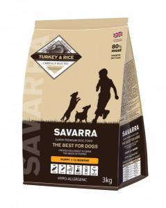 Savarra Puppy сухой корм с индейкой для щенков всех пород 18 кг