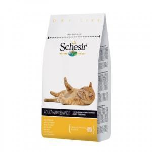 Schesir Adult сухой корм для взрослых кошек с курицей