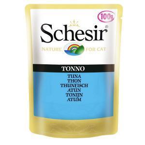 Schesir Tuna консервы для кошек с тунцом 100 г х 20 шт