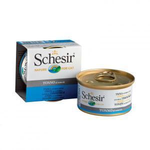 Schesir with Tuna консервы для кошек с тунцом 85 г (14 штук)