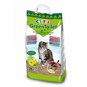 Сliffi Greentoilet наполнитель для кошачьего туалета 2,1 кг