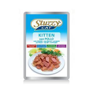 Stuzzy Kitten Chicken консервы для котят с курицей 100 г (24 штуки)