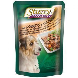 Stuzzy Speciality Chicken & Ham влажный корм для собак с курицей и ветчиной 100 г (24 шт. в упаковке)