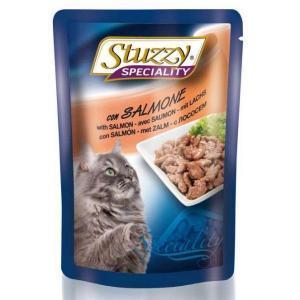 Stuzzy Speciality Salmon консервы для кошек с большим содержанием лосося 100 г (24 штуки)