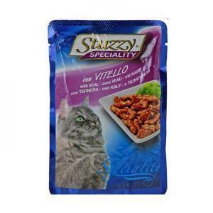 Stuzzy Speciality Veal консервы для кошек с телятиной 100 г (24 штуки)