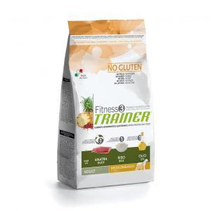 Trainer Fitness3 No Gluten Medium/Maxi Adult сухой беззерновой корм для собак средних и крупных пород с уткой