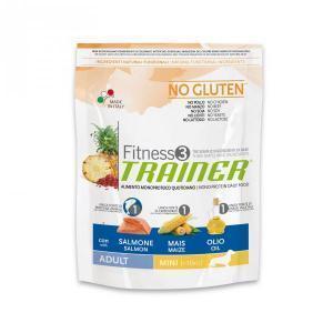 Trainer Fitness3 No Gluten Mini Adult сухой беззерновой корм для собак маленьких пород с лососем