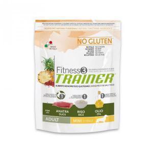 Trainer Fitness3 No Gluten Mini Adult сухой беззерновой корм для собак маленьких пород с уткой