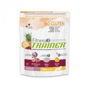 Trainer Fitness3 No Gluten Mini Adult сухой беззерновой корм для собак маленьких пород с ягненком