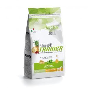 Trainer Fitness3 No Grain Medium/Maxi Adult Vegetal сухой беззерновой корм для собак средних и крупных пород