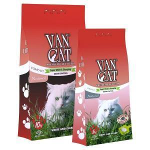 """Van Cat """"100% Натуральный"""" комкующийся наполнитель, без пыли"""