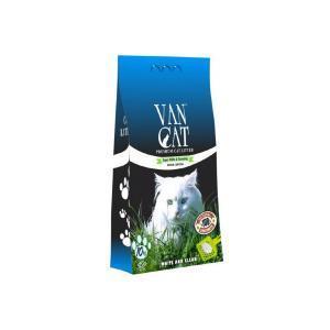 Van Cat комкующийся наполнитель без пыли с ароматом весенней свежести 10 кг