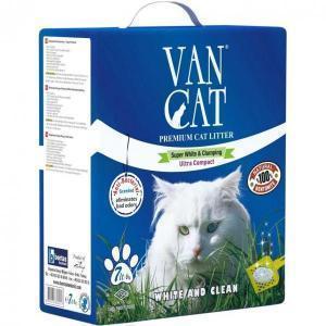 Van Cat комкующийся наполнитель для крупных кошек, без пыли 15 кг