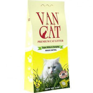 Van Cat комкующийся наполнитель с антибактериальным эффектом 6 кг