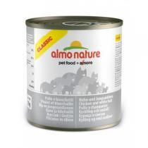 Almo Nature Classic Adult Cat Chicken & White Bait консервы для кошек с курицей и сардинами 280 г
