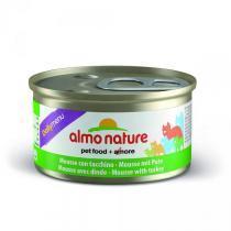 Almo Nature Daili Menu Mousse Turkey консервы мусс для кошек с индейкой 85 г х 24 шт