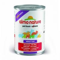 Almo Nature Daily Menu Beef консервы для кошек с говядиной 400 г