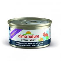 Almo Nature Daily Menu Cat Trout консервы для кошек с форелью 85 г х 24 шт