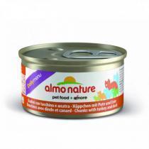 Almo Nature Daily Menu Cat Turkey & Duck консервы для кошек с индейкой и уткой 85 г х 24 шт