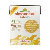 Almo Nature Daily Menu Chicken&Turkey Tetrapack консервы для собак с курицей и индейкой 375 г