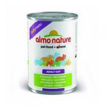 Almo Nature Daily Menu Turkey консервы для кошек с индейкой 400 г