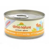 Almo Nature Legend Kitten Chicken консервы для котят с курицей 70 г х 24 шт