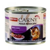 Animonda Carny Adult консервы для кошек с говядиной и ягненком 200 г (6 штук)