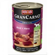 Animonda Gran Carno Original Adult консервы для собак с говядиной и сердцем 400 г х 6 шт