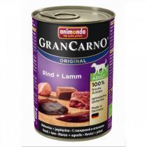 Animonda Gran Carno Original Adult консервы для собак с говядиной и ягненком 400 г х 6 шт