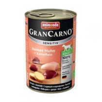 Animonda GranCarno Sensitiv консервы для собак с чувствительным пищеварением курица и картофель 400 г х 6 шт