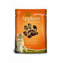 Applaws Cat Chicken & Pumpkin pouch консервы для кошек с курицей и тыквой 70 г х 12 шт