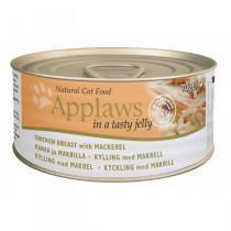 Applaws Jelly Chicken & Mackerel консервы для кошек с курицей и скумбрией