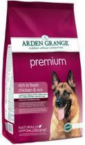 Arden Grange Premium сухой корм для собак с курицей и рисом