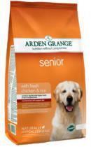 Arden Grange Senior сухой корм для стареющих собак с курицей и рисом