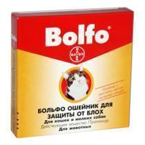 Bayer Bolfo ошейник от блох и клещей для кошек и собак мелких пород 35 см