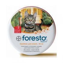 Bayer Foresto ошейник от блох и клещей для кошек 38 см