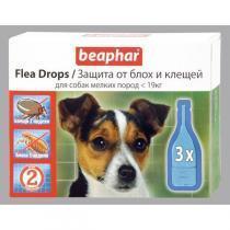 Beaphar Flea Drops капли от блох и клещей для собак