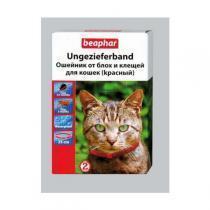 Beaphar Ungezieferband Red For Cats ошейник для кошек от блох и клещей 35 см