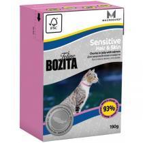 Bozita Feline Funktion Sensitive Hair & Skin консервы для кошек с чувствительной кожей и шерстью 190 г
