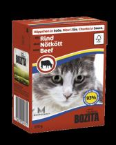 Bozita консервы для кошек кусочки в соусе с Говядиной 370 г