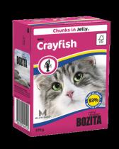 Bozita консервы для кошек кусочки в желе с Лангустом 370 г