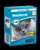 Bozita консервы для кошек кусочки в желе со Скумбрией 370 г